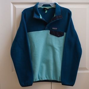 patagonia lightweight synchilla snap pullover